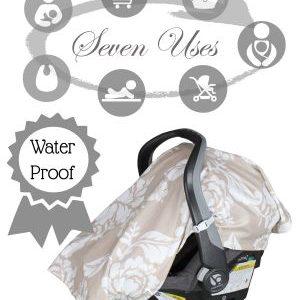 B.Loved Baby Outings 7 in 1 Waterproof Baby Cover