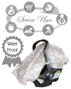 B.Loved Baby Outings 7 in 1 Waterproof Baby Cover