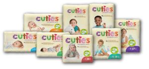 Cuties® Baby Diapers