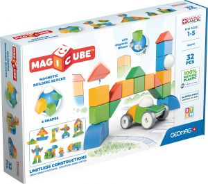 Geomag Magicube Multishapes Building Blocks Magnetic Toys 32pc