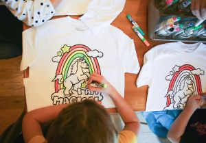 Doodle Tees™ - Color Your Way - Interactive Apparel For Kids