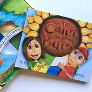 Calm In Your Palm Book, Blanket, Song & App