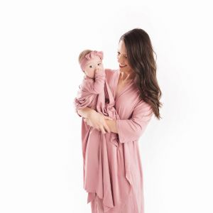 Mommy & Me Robe & Swaddle Set