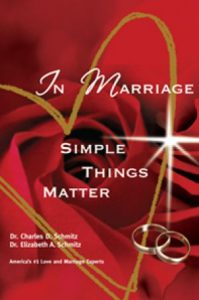 In Marriage Simple Things Matter