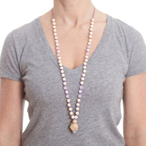 anjie + ash Goddess Collection Clarity Silicone Teething Necklace