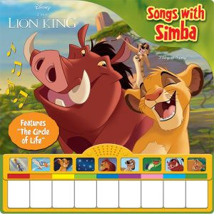 Piano Book Mini Deluxe Board Book Lion King