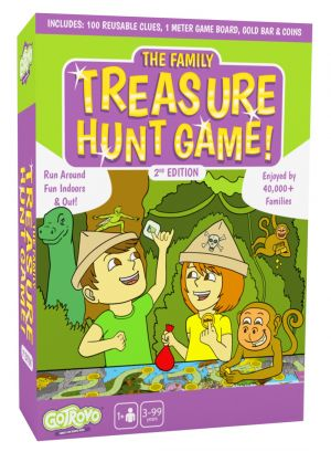 The Family Treasure Hunt Game