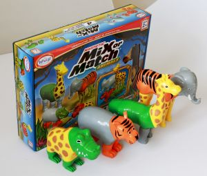 Magnetic Mix or Match Farm / Jungle Animals