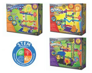 Techno Gears Marble Mania - Slingshot, Catapult & Zoomerang