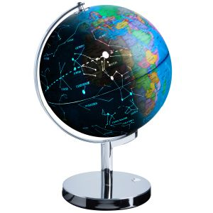 3-in-1 World Globe LED Constellation Map Night light
