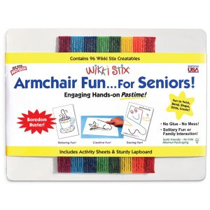 Wikki Stix Armchair For Seniors