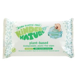 Kinder By Nature Plant-Based Baby Wipes