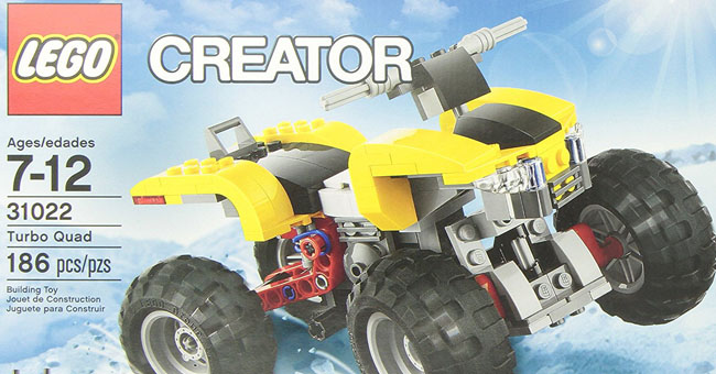 LEGO Creator Turbo Quad Giveaway