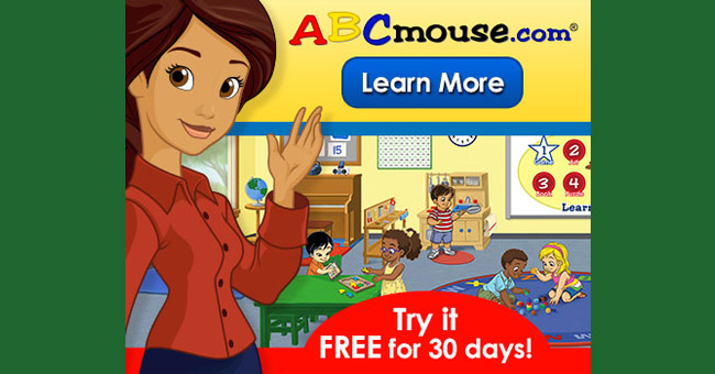 Free Membership at Award-Winning ABCMouse Educational Website!