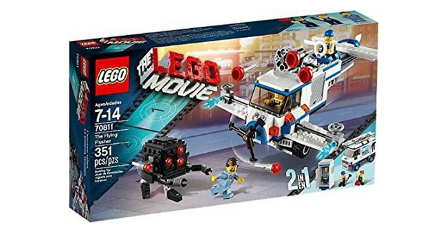 LegoMovie - The Flying Flusher Toy Giveaway