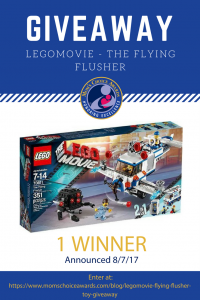 LegoMovie - The Flying Flusher Giveaway