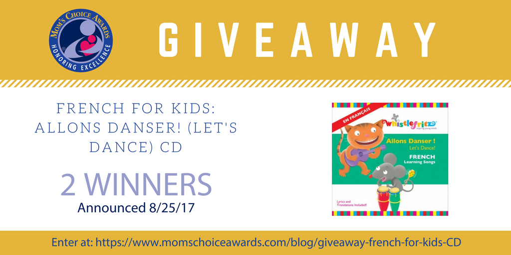 GIVEAWAY: French for Kids - Allons Danser! (Let's Dance)