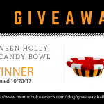 GIVEAWAY: Halloween Holly Book + Candy Bowl!