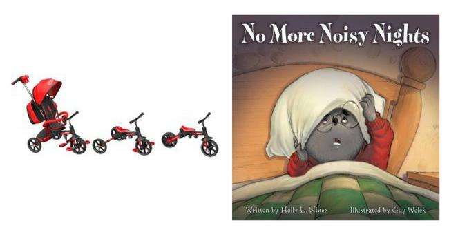 Award-winning Convertible Stroller & Children's Bedtime Story!