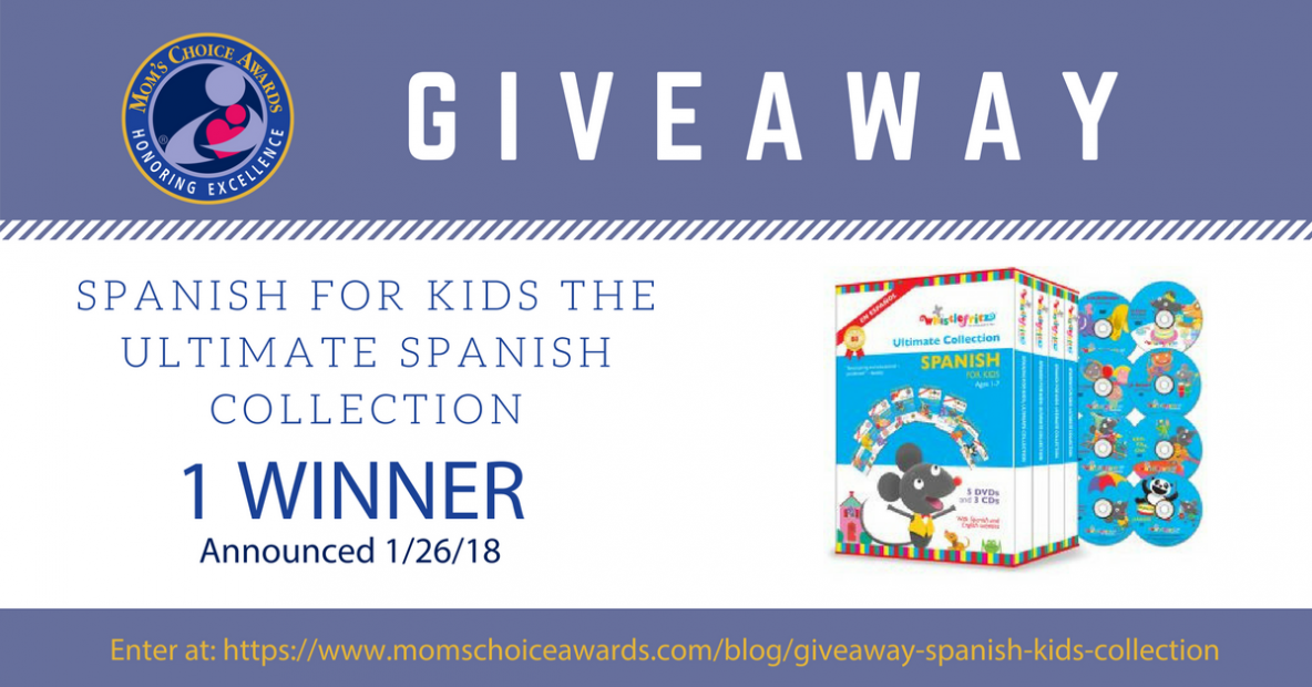GIVEAWAY: SPANISH FOR KIDS THE ULTIMATE SPANISH COLLECTION