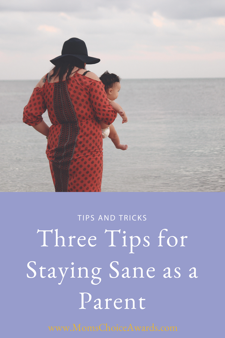Three Tips for Staying Sane as a Parent width=