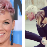 Pink Posts Picture of Her Daughter Climbing On Her While Rehearsing For Her Upcoming Tour