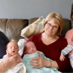 Single Mother Asks For Help With Triplets On Social Media, Receives Overwhelming Response
