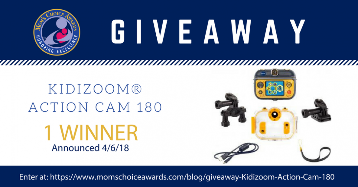 KIDIZOOM® ACTION CAM 180 Giveaway