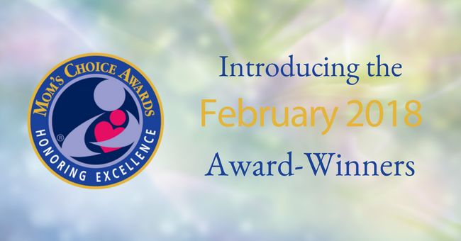 February 201 award-winning children's products