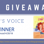 GIVEAWAY: Leah's Voice – A Book About Autism