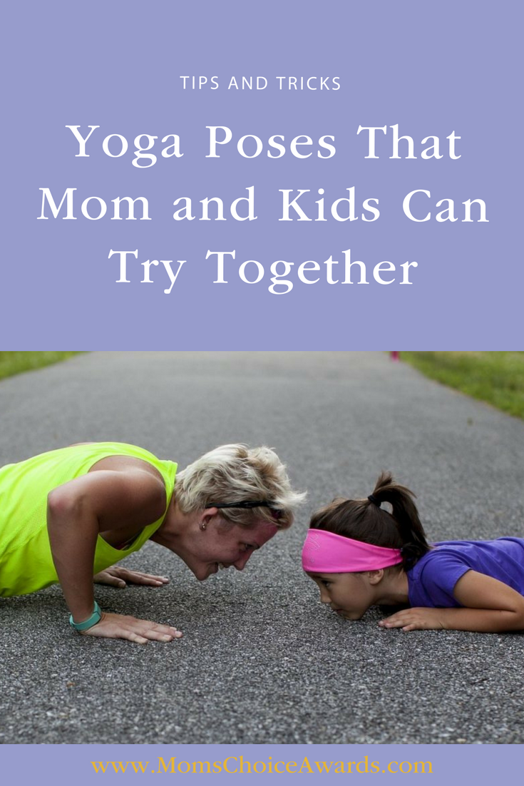 Yoga Poses That Mom And Kids Can Try Together