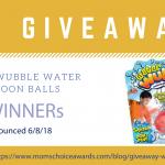GIVEAWAY: Water Wubble® Water Balloon Balls