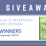 GIVEAWAY: Frogwilla, A Treefrog's Story (signed)