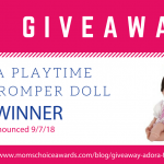 Giveaway: Adora Floral Romper Doll