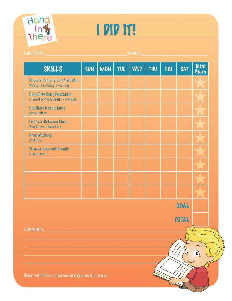 Behavior Chart Activities Mom S Choice Awards