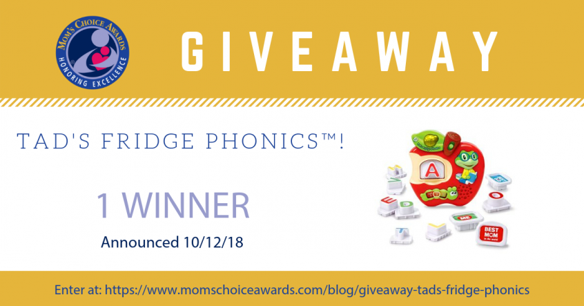 GIVEAWAY Tad's Fridge Phonics Pinterest