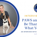 Interview with Miranda Mittleman, Author of PAWS and THINK!® Be Thankful For What You Have