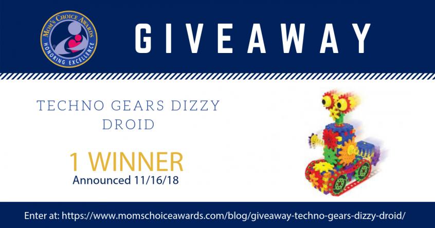 Giveaway: Techno Gears Dizzy Droid