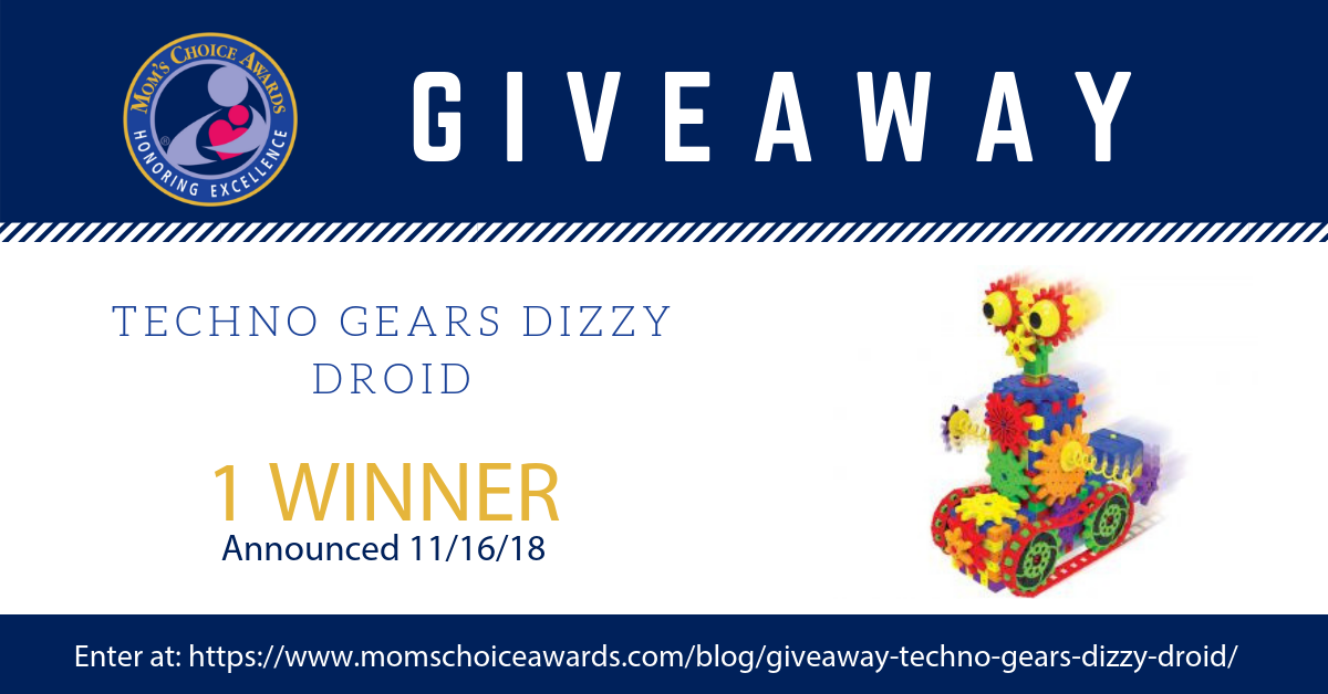 Giveaway Techno Gears Dizzy Droid Mom S Choice Awards