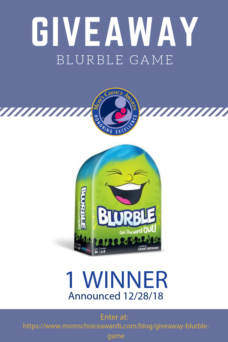 Giveaway Blurble Game Pinterest Mom S Choice Awards