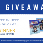 GIVEAWAY: Reindeer in Here Book and Toy