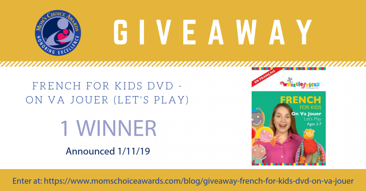 Giveaway French for Kids DVD - On Va Jouer (Let's Play) Pinterest