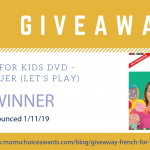 GIVEAWAY: French for Kids DVD – On Va Jouer (Let's Play)