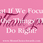 What If We Focused on the Things They Do Right?