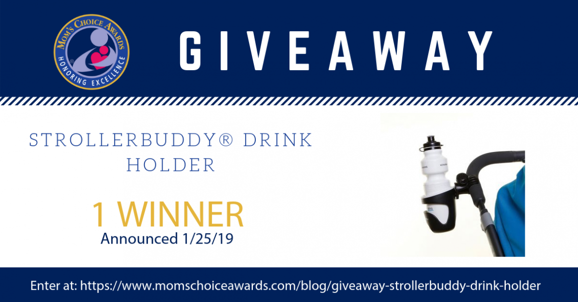 giveaway STROLLERBUDDY® DRINK HOLDER