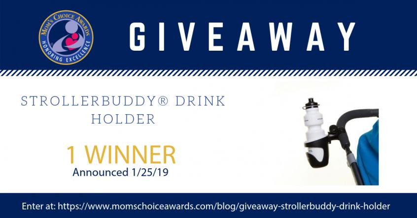giveaway STROLLERBUDDY® DRINK HOLDER