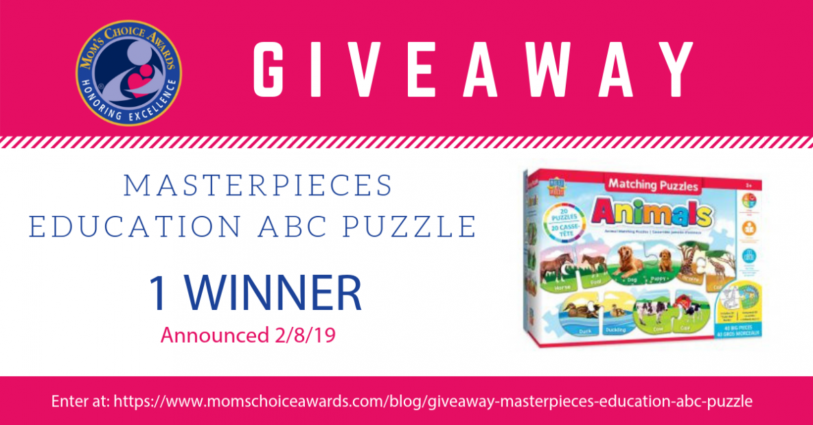 GIVEAWAY MasterPieces Education ABC Puzzle
