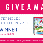 GIVEAWAY: MasterPieces Education ABC Puzzle