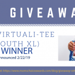 GIVEAWAY: The Virtuali-Tee (Youth XL)