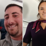 Dad Joins Flight Attendant Daughter For All of Her Flights On Christmas Day
